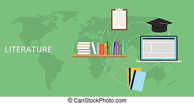 literature concept and online learning - literature concept...