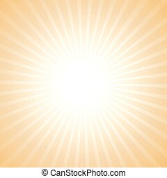Vector sun light background. Abstract background with rsun...