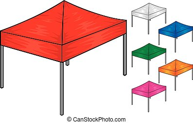 folding tent collection (canopy tent)