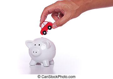 Saving for a new car - Start saving now for your new car