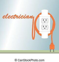 Electric poster