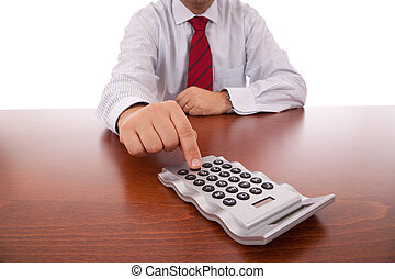 Accountant businessman