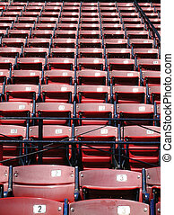 Boston - Empty seats at Fenway Park