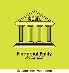 financial entity design, vector illustration eps10 graphic