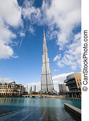 Burj Dubai - the tallest building in the world at 828 meters