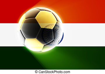 Flag of India soccer