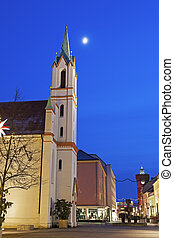 Schlosskirche and Spremberger Turm - Schlosskirche and...
