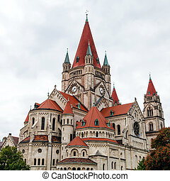 St Francis of Assisi Church, Vienna - travel to Vienna city...