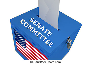 Senate Committee concept - Render illustration of Senate...