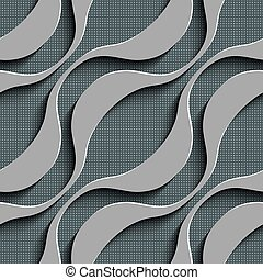 Seamless Wave Pattern - Abstract Seamless Wave Pattern