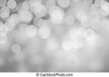 Sparkling Lights on grey background Glitter Christmas...