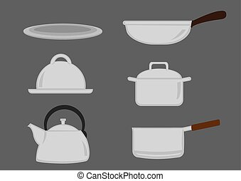 Pots and Pans Kitchen Utensil