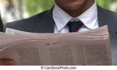 Newspaper, Reading, Periodicals