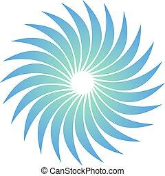 Ciencia, Extracto, diseño, logotipo