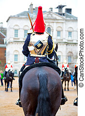 in england horse cavalry the queen - in london england horse...