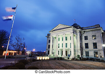 Old Boone County Courthouse in Columbia, Missouri, USA