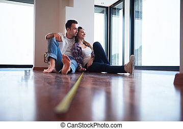 couple home renovation
