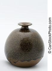 Home made ceramic vase