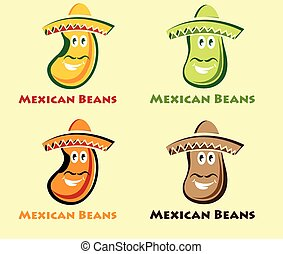 set of mexican beans