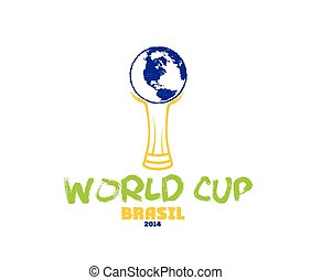 world cup brasil 2014 illustration