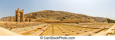 Ruins of Persepolis - Ruins of old city Persepolis, a...