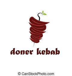 abstract doner kebab
