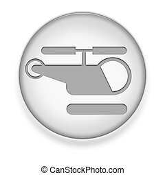 Icon, Button, Pictogram Heliport - Icon, Button, Pictogram...