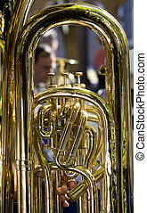 Tuba - Big copper tuba