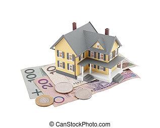 House on polish money