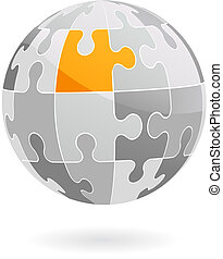 Abstract vector design element - 4