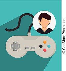 Blog and bloggers trend design, vector illustration graphic