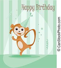 Birthday card for boys