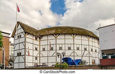 Shakespeare's Globe Theatre in London, UK
