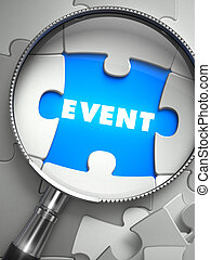 Event through Lens on Missing Puzzle - Event through Lens on...