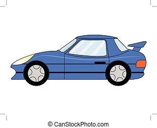 sport car - vector illustration of sport car