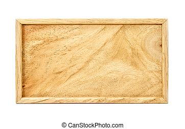 plain wood