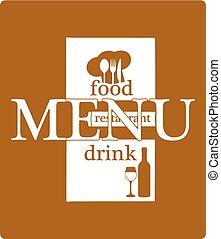 stencil template restaurant menu header