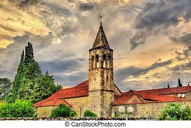 View of a church in Split - Croatia
