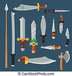 Knifes weapon collection - Knifes weapon collection...