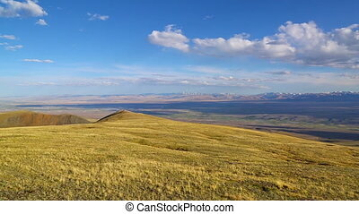 Chuya River Valley landscape, Altai - Chuya River Valley...