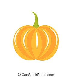 Pumpkin vector illustration - Pumpkin icon Vector...
