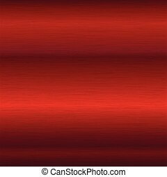brushed red surface - background or texture of brushed red...