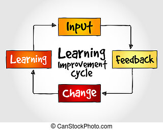 Learning improvement cycle