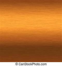 brushed gold surface
