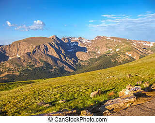 Rocky Mountain National Park - Landscape of Rocky Mountain...