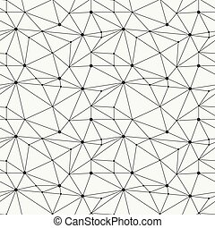 Geometric line hipster seamless pattern with triangle,...