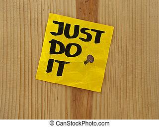 apenas, aquilo, -, motivational, lembrete