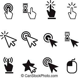 Click icon set