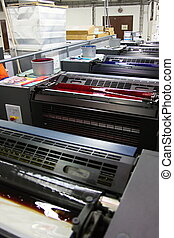 Offset machine and color - Different printing offset...
