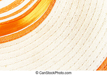 Woven straw background or texture